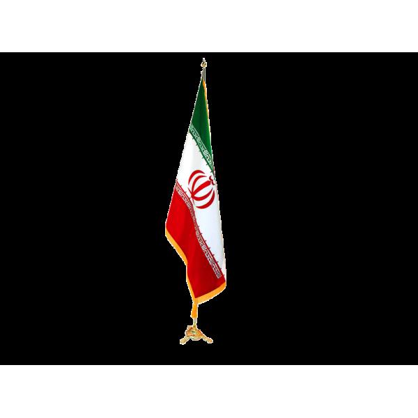 پرچم تشریفات ایران (ساتن)