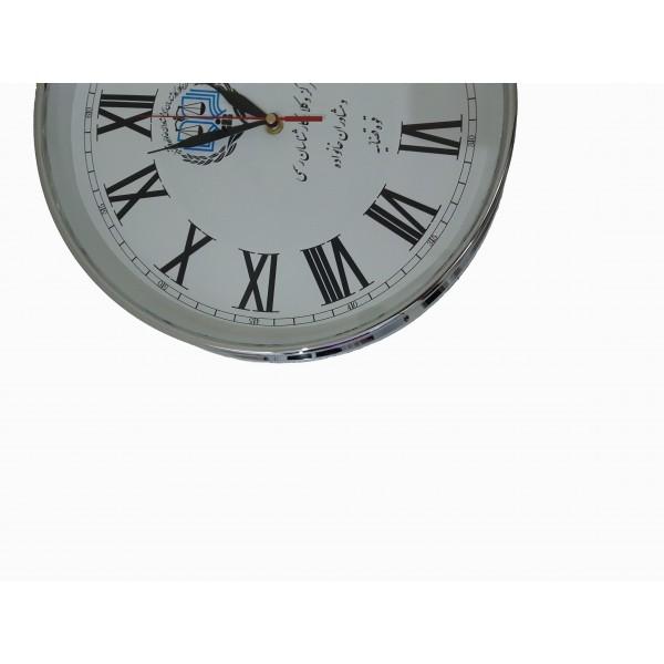ساعت دیواری حلقه نقرهای S0050